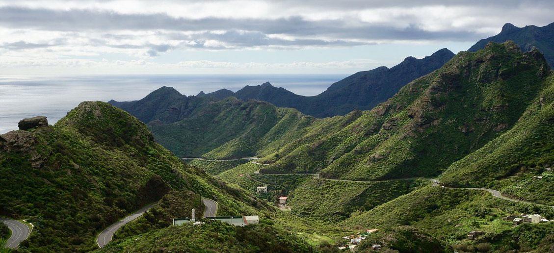 Gebirge Teneriffa