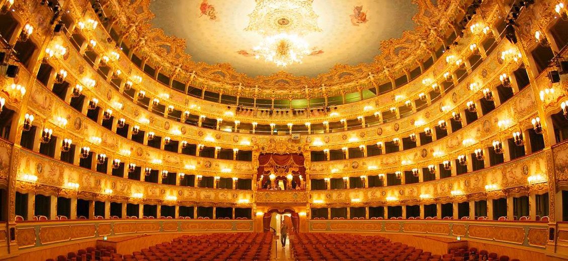 Gran Teatro La Fenice in Venedig Innenansicht