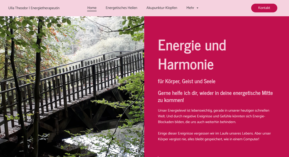 Website Lichtesheilen.de