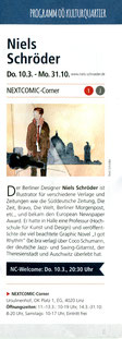 Niels-Schröder, LInz-NEXTComic-Festival, Linz, Coco-Schumann, Hamburg-singt, Comic-Ausstellung, Graphic-Nobel, Jazz, Swinglegende, Jazzgitarrist, be.bra-verlag-berlin, Berlin-Geschichte, Niels-Olaf-Schröder