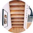 Treppen aus Metall, Holz oder Stahlbeton sanieren, reinigen, flicken, renovieren, lackieren und sonstiges;  Entsorgen von Treppenkonstruktionen, Geländer, Metallresten, Holzresten, Betonresten und Bauschutt.