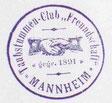 Vereinsstempel von 1891 bis 1945
