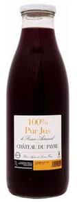 100% pur jus de raisin rouge, Château du Payre