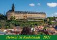 Rudolstadt, Vogelschießen, Heidecksburg, 2021, Heimat, Rudolstadt, Thüringen,  Schwarza, Kalender, Wenki,  Michael, Wenk, Geschenk