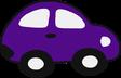 voiture sans permis voiturette violet assurance