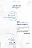 Automotive SPICE Zertifikat