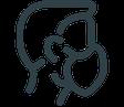GRIMASKE® Medizinische Gesichtsmaske Typ 1 CE | EN 14683 mit HeiQ Viroblock® Technologie mit angenehmen Tragekomfort von Feld Textil GmbH - https://www.krawatten-tuecher-schals-werbetextilien.de/ - bequem, hoher Tragekomfort