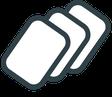 GRIMASKE® Medizinische Gesichtsmaske Typ 1 CE | EN 14683 mit HeiQ Viroblock® Technologie mit angenehmen Tragekomfort von Feld Textil GmbH - https://www.krawatten-tuecher-schals-werbetextilien.de/ - 3-lagig mit Viroblock®-Technologie