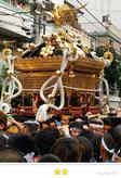 mamezoさん:鳥越祭り『本社千貫神輿渡御』,柳二町会