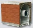 Coffre linteau brique