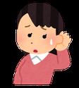 耳鳴りの症状がある女性