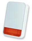 sirena wireless con indicatore di stato a batteria da esterno