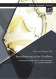 """""""Spezialisierung in der Hotellerie"""" Buch von Renate Pilz"""
