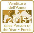Premio SalesPerson of the Year 2015 - Venditore dell'Anno
