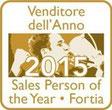 Premio SalesPerson of the Year 2015 - Venditore dell'Anno