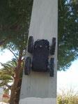 Magnetic Surveillance Robot
