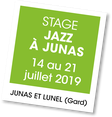 Stage Jazz à Junas 2019