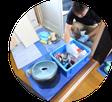 丁寧な養生|阿賀野市のハウスクリーニング専門店「お掃除ハウス新潟」が選ばれるワケ