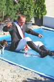 Baden gegangen - Maik  Junghänel, der neue Landesmeister im Springreiten - Pantel