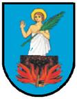 Das Wappen des Wiener Bezirks St. Veith wegen Herkunft der früheren Bezeichnungen für die Huntington-Krankheit (Chorea Huntington)