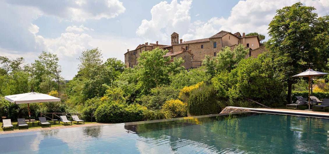 Luxus Resort Castel Monastero Toskana