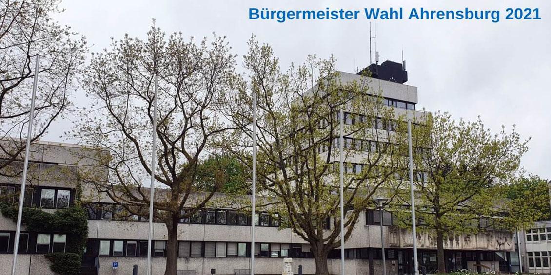 Ahrensburg: Das Rathaus (Bild: Ahrensburg-Portal)