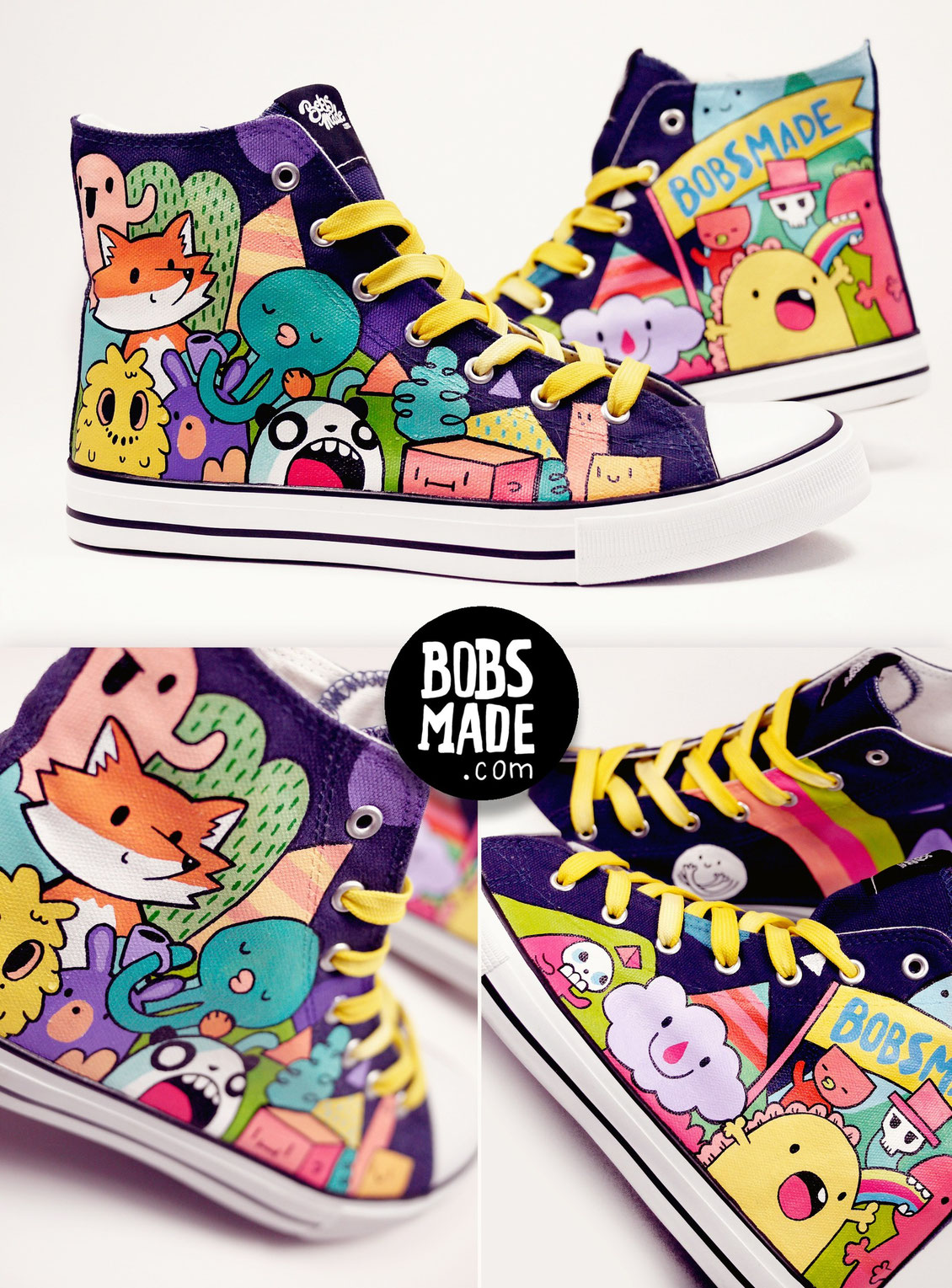 Happy monster chucks