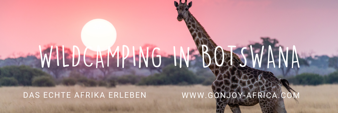 Wildcamping Botswana