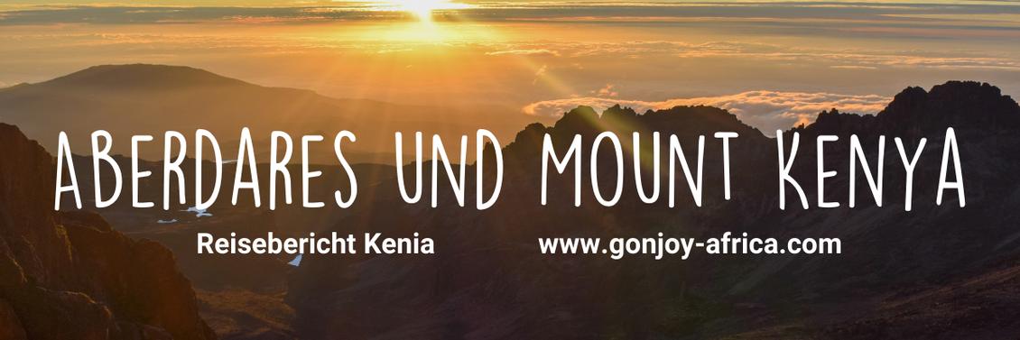 Safari in Kenia Aberdares Nationalpark Mount Kenya