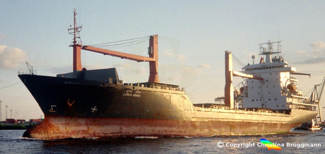 UCC-14M Containerschiff LANKA ARUNA