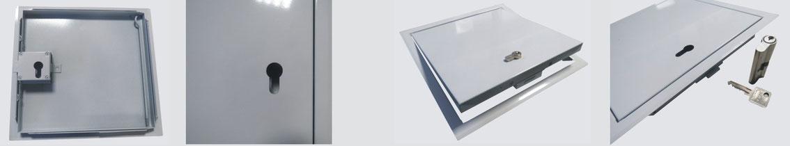 Heika-Softline mit Profilzylinderschloss