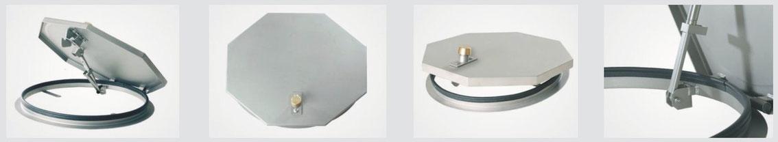 System SA 4 - Schachtabdeckung regensicher, einbruchhemmend, rund