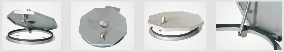 System SA 2 - Schachtabdeckung regensicher, rund