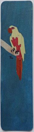 Marque-page Perroquet - 15 x 4