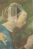Piero della Francesca: Die Königin von Saba im Gebet