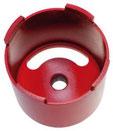 Dozenboor / klokboor met zeskant of SDS plus diameter 102mm