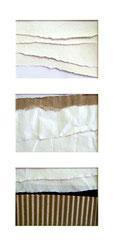 Eurythmie, collages d'Annie Baratz artiste peintre plasticienne
