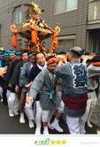 弾正睦さん: 北千住氷川神社新春初担ぎ