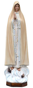 Our Lady of Fatima statue cm. 60