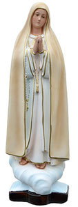 Our Lady of Fatima statue cm. 37