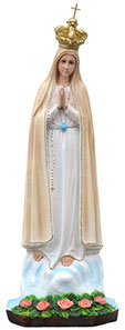 Our Lady of Fatima statue cm. 65