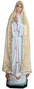 Our Lady of Fatima statue cm. 120