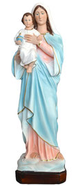 Mary and Baby statue cm. 50