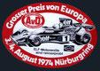 XXXVIº Grosser Preis von Deutschland de 1974