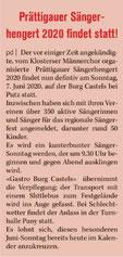 9. August 2019 Klosterser Zeitung
