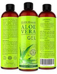 Aloe Vera GEL - 99% biologisch, 12oz - KEIN XANTHAN, zieht schnell ein, keine Rückstände - Made in USA - ERGEBNISSE...