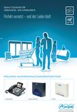 Titelbild Broschüre: Einzelhandel, Transport & Logistik