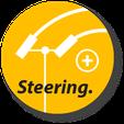 crawlster®BTA Button STEERING