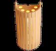 Saunalicht Abdeckung Sentiotec Saunatechnik Saunazubehör