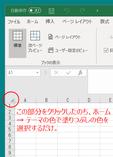 Excel の地色変更